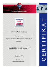 2014 - Certifikovaný makléř