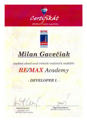 REMAX Academy - DEVELOPER I